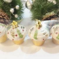 Jual Hiasan Kue Tart isi 4-Hiasan Natal Murah
