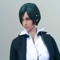 ADA WONG HEADSCULPT 1/6 FIGURE KITBASH ORIGINAL HOT TOYS RESIDENT EVIL
