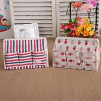 Home Tool Tempat Tissue Kotak Tissue Tissue Box 6 Sekat Se L8