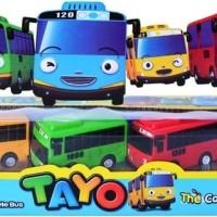 MAINAN BUS TAYO SET THE LITTLE TAYO BUS SET PULL BACK ISI 4