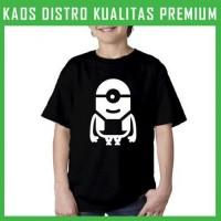 Jual Kaos Minion 1 Icon Logo 2 Anak ANK-MIN08 Laki / Perempuan Murah