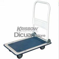 Jual Krisbow Foldable Platform Handtruck 150kg  / Trolley Barang Dorong Murah