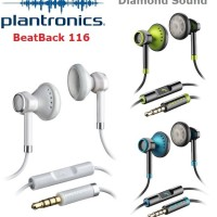 Jual Original Plantronics BackBeat 116 Stereo Headset Excellent Value NoB Murah