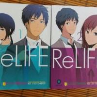 Penerbit katalisku Komik/manga/anime/novel ReLife by Yayoiso