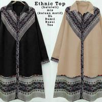 Jual Terlaris 62168 ethnic top/baju tunik murah/atasan muslim wanita murah Murah