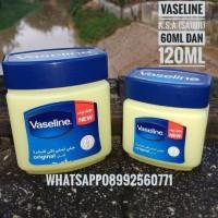 Jual Vaseline Pure Petroleum Jelly 60ml 60gr Arab Original vaselin original Murah