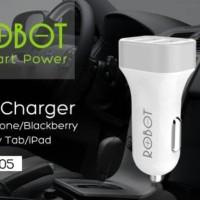 Jual VIVAN Robot RT-C05 Dual USB Ports Car Charger Murah