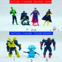 Jual Action figure transformer superhero batman superman Murah