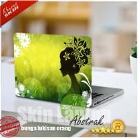 Garskin Laptop | Stiker | Skin Laptop bunga lukisan orang