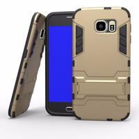 Jual PROMO!Samsung s6 EDGE PLUS | Case hybrid Transformer Robot IronMan Iro Murah