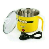 Jual Mini Cup Cooker Doraemon Kitty Minion / Tempat Masak Mie Murah