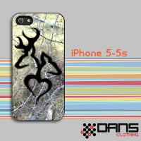 Jual iPhone Case - iPhone 5s Browning Deer Love Camo Cover Murah