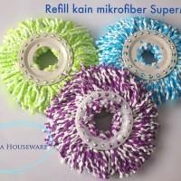 Jual 3 Pcs Refil Kain Super Mop Paket Hemat ( 3 Pcs Yah Dapat Nya) Murah