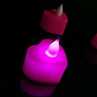 Jual LILIN LED LOVE WARNA PINK Limited Murah