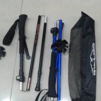 Jual Folding Trekking Pole Dhaulagiri 103 not tnf-jws Berkualitas Murah