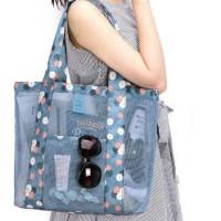 Jual Murah..., Tas wanita jaring transparan untuk belanja dan kosmetik - Murah