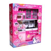 Jual Mainan Anak Kitchen Set My Little Pony - Mainan Masak-Masakan Murah