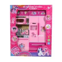 Jual Mainan Anak Kitchen Set My Little Pony Type B - Mainan Masak-Masakan Murah