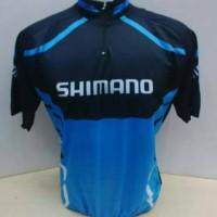 Jual Jual Baju Jersey Kaos Celana Sepeda Balap Murah SHIMANO HITAM BIRU Murah