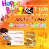 PAKET DVD 700 LAGU INDO KARAOKE ANAK - ANAK BISA UNTUK ULTAH