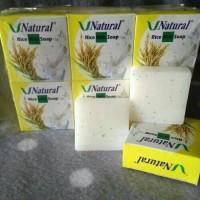 Jual V Natural Rice Milk Soap BPOM Murah