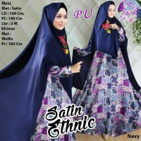 Jual Produk Premium 118536 SATIN ETHNIC NAVY Murah