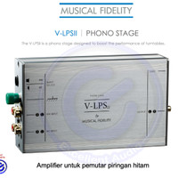 Jual Musical Fidelity VLPS II MM MC Phono stage turntable sln rega project Murah