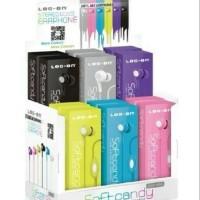 Jual Headset Original LOG-ON Soft Candy ( Earphone, Handsfree ) Murah