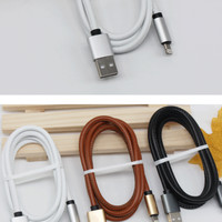 Jual #FD032 - Kabel Fashion Iphone 5 / 5S / Ipad Mini Kabel Kulit - UNIPHA  Murah