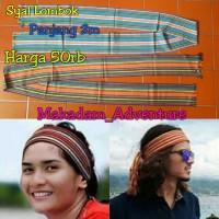 Jual syal etnik selendang kain tenun lombok panjang 2m   Murah
