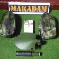 Jual sekop lipat portable mini multi fungsi outdoor / camping   Murah