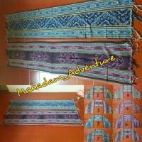 Jual syal etnik selendang kain tenun lombok 185 x 40cm   Murah