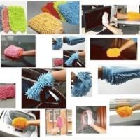 Jual Sarung Tangan Microfiber - Lap Sarung Tangan Murah