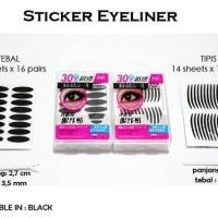 Jual Stiker Mata Hitam Tipis [scott eyeliner/eyelid] Murah