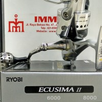 New Reel RYOBI ECUSIMA II 8000 Terbaik