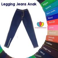 Jual Legging Jeans Uk. Tanggung 9-12 th Leging Polos Jeans A Limited Murah