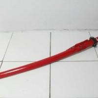 Indo Pedang Samurai Katana Red Dragon