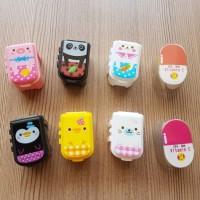Jual PROMO MURAH !!! Kotak Obat/ Vitamin Set Isi 3 Animal Smile Everyday Murah