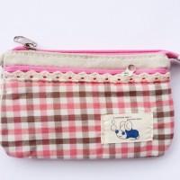 Jual Tas Handmade Pink Kotak-kotak Murah