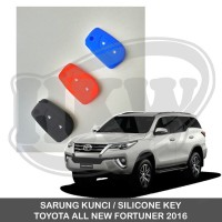 Jual SARUNG KUNCI SILICONE KEY TOYOTA ALL NEW FORTUNER Murah
