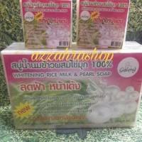 Jual Sabun Beras Whitening Rice Milk & Pearl Soap GALONG Murah