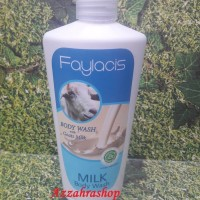 Jual SABUN FAYLACIS GOAT MILK BODY WASH 250ML Murah