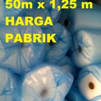 Jual PROMO MURAH GROSIR PLASTIK BUBBLE WRAP WARP 50 1 1,25 METER HEMAT Murah
