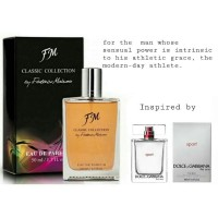 Parfum FM 451 Inspired By Dolce Gabbana The One Sport ( Eau De Parfum,