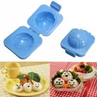 Jual Cetakan(Soccer Ball Sushi Rice Egg Mold Bento Maker bola telur nasi) Murah