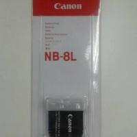 Jual Baterai Canon NB-8L / Nb 8L Canon Ixus Powershot Murah