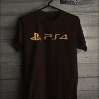 Jual Kaos T shirt Playstation 4 Logo New Murah