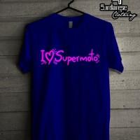 Jual Kaos I love Supermoto Murah Berkualitas Murah