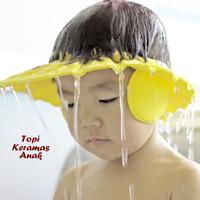 Jual Topi Keramas Anak dgn Penutup Telinga (Melindungi mata & telinga anak) Murah