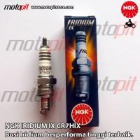 NGK IRIDIUM IX CR7HIX Busi Motor Mio Jupiter Vega Smash Shogun Supra